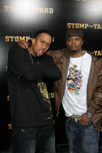 """Stomp the Yard"" (Premiere) Affion Crockett, Deric ""DJ D-Wrek Battiste1-8-2007 / Cinerama Dome / Los Angeles, CA / Screen Gem / Photo by Max Rodeo - Image 22894_0007"