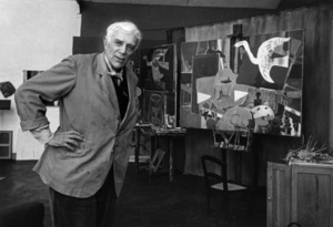 Georges Braque, French painter, at his studiocirca 1950 © 1978 Sanford Roth /  L.A.C.M.A. - Image 2291_0010