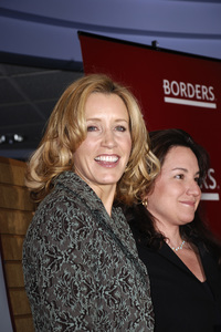 """Felicity Huffman and Patricia Wolff at the book signing of """"A Practical Handbook for the Boyfriend""""01-31-2007 / Borders / Westwood, CA / Photo by Andrew Howick - Image 22917_0001"""