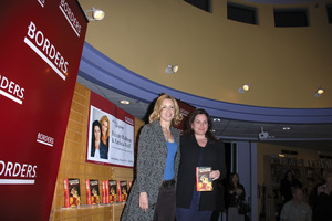 """Felicity Huffman and Patricia Wolff at the book signing of """"A Practical Handbook for the Boyfriend""""01-31-2007 / Borders / Westwood, CA / Photo by Andrew Howick - Image 22917_0002"""
