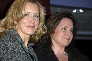 """Felicity Huffman and Patricia Wolff at the book signing of """"A Practical Handbook for the Boyfriend""""01-31-2007 / Borders / Westwood, CA / Photo by Andrew Howick - Image 22917_0006"""