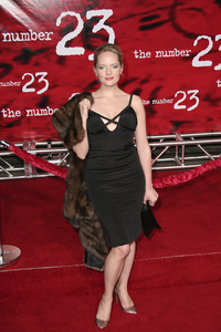 """""""The Number 23"""" (Premiere) Marley Shelton 2-13-2007 / Orpheum Theatre / Los Angeles, CA / New Line Cinema / Photo by Max Rodeo - Image 22930_0010"""