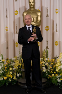 """Academy Awards - 79th Annual"" (Press Room)Academy Award winner for Best Performance by an Actor in a Supporting Role Alan Arkin2-25-07Photo by Matt Petit © 2007 A.M.P.A.S. - Image 22937_0009"