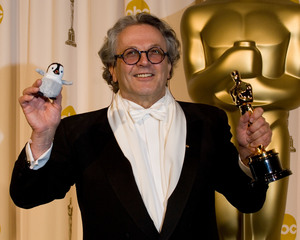 """Academy Awards - 79th Annual"" (Press Room)Academy Award winner for Best Animated Feature George Miller2-25-07Photo by Matt Petit © 2007 A.M.P.A.S. - Image 22937_0023"