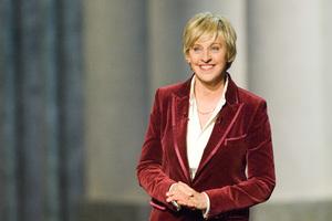 """Academy Awards - 79th Annual"" (Telecast)Ellen DeGeneres2-25-07Photo by Michael Yada © 2007 A.M.P.A.S. - Image 22937_0036"