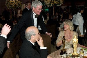 """""""Academy Awards - 79th Annual"""" (Governors Ball)Bruce Davis the Executive Director of the Academy of Motion Pictures Arts and Sciences, Academy Award winner Helen Mirren2-25-07Photo by Greg Harbaugh © 2007 A.M.P.A.S. - Image 22938_0115"""