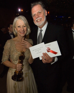 """""""Academy Awards - 79th Annual"""" (Governors Ball)Academy Award winner Helen Mirren, husband Taylor Hackford2-25-07Photo by Greg Harbaugh © 2007 A.M.P.A.S. - Image 22938_0124"""