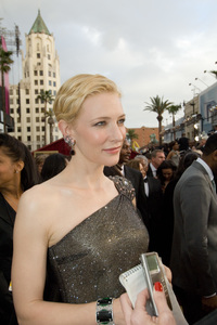 """""""Academy Awards - 79th Annual"""" (Arrivals)Cate Blanchett, Academy Award nominee for Best Actress for her work in """"Notes on a Scandal""""2-25-07Photo by Richard Harbaugh © 2007 A.M.P.A.S. - Image 22938_0140"""