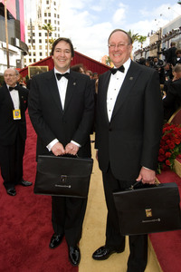 """""""Academy Awards - 79th Annual"""" (Arrivals)Rick Rosas, Brad Oltmanns2-25-07Photo by Richard Harbaugh © 2007 A.M.P.A.S. - Image 22938_0150"""