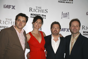 """The Riches"" (Premiere)Dmitry Lipkin, Minnie Driver, Eddie Izzard, John Landgraf03-10-2007 / Zanuck Theatre / Los Angeles, CA / FX Network / Photo by Andrew Howick - Image 22955_0033"
