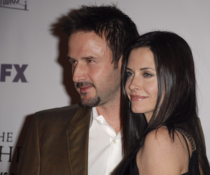 """The Riches"" (Premiere)David Arquette, Courteney Cox Arquette 03-10-2007 / Zanuck Theatre / Los Angeles, CA / FX Network / Photo by Andrew Howick - Image 22955_0045"