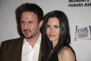 """""""The Riches"""" (Premiere)David Arquette, Courteney Cox Arquette 03-10-2007 / Zanuck Theatre / Los Angeles, CA / FX Network / Photo by Andrew Howick - Image 22955_0046"""