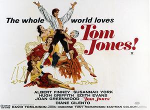 """Tom Jones"" (British Poster)1963 MGM** I.V. - Image 22957_0001"