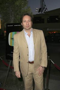 """""""The TV Set"""" (Premiere) David Duchovny 3-27-2007 / Crest Theater / Westwood, CA / ThinkFilm / Photo by Max Rodeo - Image 22982_0010"""