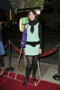 """""""The TV Set"""" (Premiere) Illeana Douglas 3-27-2007 / Crest Theater / Westwood, CA / ThinkFilm / Photo by Max Rodeo - Image 22982_0011"""