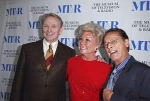 """""""The Museum of Television & Radio Presents Razzle-Dazzle!  Mitzi Gaynor . . . The Special Years""""Bob Mackie, Mitzi Gaynor, Tony Charmoli04-10-2007 / Museum of Television & Radio / Beverly Hills, CA / Photo by Andrew Howick - Image 22988_0004"""