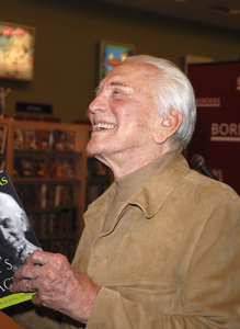 "Kirk Douglas at the book signing of ""Let"