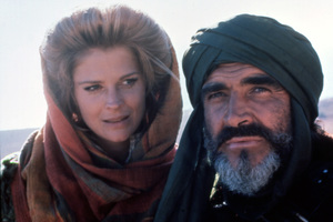 """The Wind and the Lion""Candice Bergen, Sean Connery1975 Columbia Pictures** I.V. - Image 23022_0001"