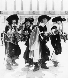 """""""The Three Musketeers""""Oliver Reed, Michael York, Richard Chamberlain, Frank Finlay1973** I.V. - Image 23057_0001"""