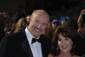 """""""The 34th Annual Daytime Emmy Awards""""Dr. Phil McGraw with wife Robin06-15-2007 / Kodak Theatre / Hollywood, CA / Photo by Andrew Howick - Image 23100_0001"""