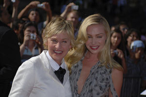 """""""The 34th Annual Daytime Emmy Awards""""Ellen DeGeneres, Portia de Rossi06-15-2007 / Kodak Theatre / Hollywood, CA / Photo by Andrew Howick - Image 23100_0010"""