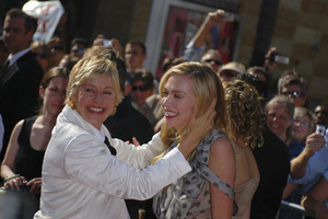 """""""The 34th Annual Daytime Emmy Awards""""Ellen DeGeneres, Portia de Rossi06-15-2007 / Kodak Theatre / Hollywood, CA / Photo by Andrew Howick - Image 23100_0013"""