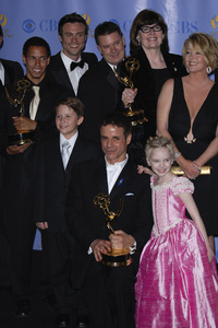 """The 34th Annual Daytime Emmy Awards""Bryton McClure, Hunter Allan, Christian LeBlanc, Darcy Rose Byrnes, Melody Thomas Scott 06-15-2007 / Kodak Theatre / Hollywood, CA / Photo by Andrew Howick - Image 23100_0190"