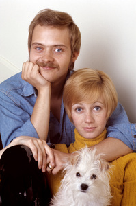 Sandy Duncan with her husband, Bruce Scott1971© 1978 Gene Trindl - Image 2313_0114