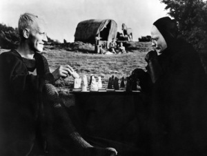 """The Seventh Seal""Max von Sydow, Bengt Ekerot1957** I.V. - Image 23137_0010"