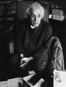 Albert Einstein at Princetoncirca 1950s© 1978 Sanford Roth - Image 2323_0002