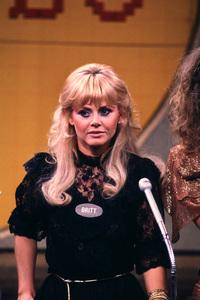 """Britt Ekland on """"Family Feud""""circa 1979**H.L. - Image 2325_0102"""