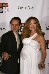"""Movies Rock: A Celebration of Music In Film""Marc Anthony, Jennifer Lopez12-2-2007 / Kodak Theatre / Hollywood, CA / Photo by Max Rodeo - Image 23259_0033"