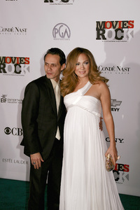 """Movies Rock: A Celebration of Music In Film""Marc Anthony, Jennifer Lopez12-2-2007 / Kodak Theatre / Hollywood, CA / Photo by Max Rodeo - Image 23259_0037"