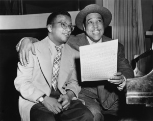 "Edward Kennedy ""Duke"" Ellington and Billy Strayhorncirca mid 1940s** I.V.M. - Image 2326_0113"