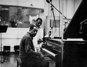 "Edward Kennedy ""Duke"" Ellington and Billy Strayhorncirca 1960s** I.V.M. - Image 2326_0114"