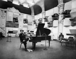 """Edward Kennedy """"Duke"""" Ellington on the set of """"Paris Blues"""" in France1961** I.V.M. - Image 2326_0116"""