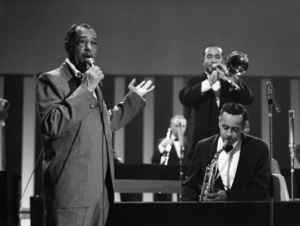 "Edward Kennedy ""Duke"" Ellington and Paul Gonsalves performing in London1969** I.V.M. - Image 2326_0128"