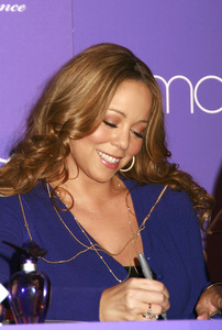 """M by Mariah Carey"" Fragrance Launch (Appearance) Mariah Carey 11-20-2007 / Macys at Glendale Galleria / Glendale, CA / Photo by Max Rodeo - Image 23279_0010"