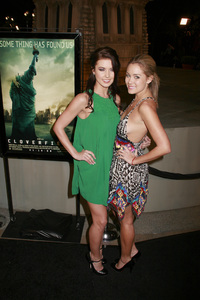 """""""Cloverfield"""" PremiereAudrina Patridge, Lauren Conrad1-16-2008 / Paramount Pictures Lot / Los Angeles, CA / Paramount Pictures / Photo by Max Rodeo - Image 23333_0002"""