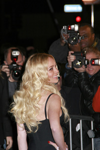 """""""Cloverfield"""" PremiereLindsay Lohan1-16-2008 / Paramount Pictures Lot / Los Angeles, CA / Paramount Pictures / Photo by Max Rodeo - Image 23333_0027"""