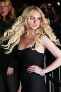 """""""Cloverfield"""" PremiereLindsay Lohan1-16-2008 / Paramount Pictures Lot / Los Angeles, CA / Paramount Pictures / Photo by Max Rodeo - Image 23333_0029"""