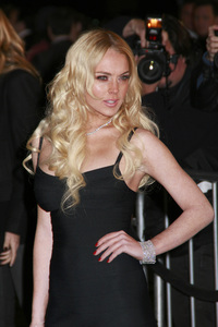 """""""Cloverfield"""" PremiereLindsay Lohan1-16-2008 / Paramount Pictures Lot / Los Angeles, CA / Paramount Pictures / Photo by Max Rodeo - Image 23333_0030"""