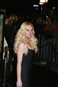 """""""Cloverfield"""" PremiereLindsay Lohan1-16-2008 / Paramount Pictures Lot / Los Angeles, CA / Paramount Pictures / Photo by Max Rodeo - Image 23333_0032"""