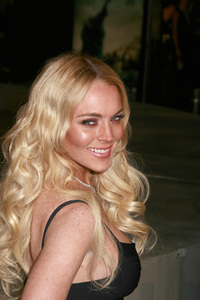 """""""Cloverfield"""" PremiereLindsay Lohan1-16-2008 / Paramount Pictures Lot / Los Angeles, CA / Paramount Pictures / Photo by Max Rodeo - Image 23333_0035"""