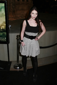 """""""Cloverfield"""" PremiereMichelle Trachtenberg1-16-2008 / Paramount Pictures Lot / Los Angeles, CA / Paramount Pictures / Photo by Max Rodeo - Image 23333_0058"""