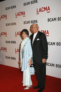 Opening Celebration of the Broad Contemporary Art Museum  Eli Broad and wife Edythe Broad2-9-2008 / LACMA / Los Angeles, CA / Photo by Max Rodeo - Image 23349_0003