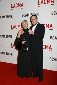 Opening Celebration of the Broad Contemporary Art Museum  Susan Bay, Leonard Nimoy2-9-2008 / LACMA / Los Angeles, CA / Photo by Max Rodeo - Image 23349_0024