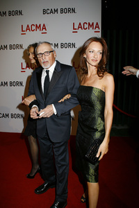 Opening Celebration of the Broad Contemporary Art Museum  Lauren Hutton, Dennis Hopper, Victoria Duffy2-9-2008 / LACMA / Los Angeles, CA / Photo by Max Rodeo - Image 23349_0026