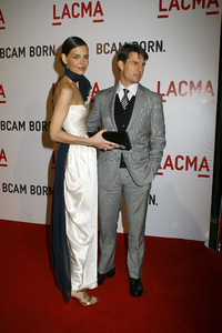 Opening Celebration of the Broad Contemporary Art Museum  Katie Holmes, Tom Cruise2-9-2008 / LACMA / Los Angeles, CA / Photo by Max Rodeo - Image 23349_0031