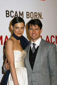 Opening Celebration of the Broad Contemporary Art Museum  Katie Holmes, Tom Cruise2-9-2008 / LACMA / Los Angeles, CA / Photo by Max Rodeo - Image 23349_0037